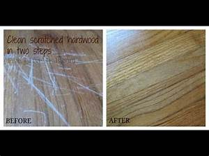 Clean scratches off a hardwood floor using mayonnaise for How to get scratches out of bamboo floors