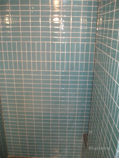 glass tile shower c 233 ramiques hugo inc