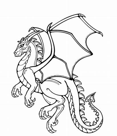 Dragon Realistic Coloring Pages Printable Getcoloringpages