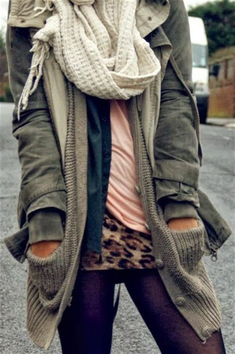 cardigan knitted cardigan layers scarf tights jacket