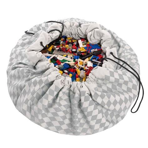 tapis de jeu et sac de rangement losange gris le pestacle de ma 235 lou