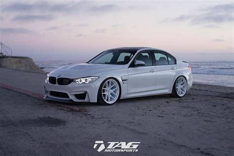 white bmw    unique tuning project carscoops