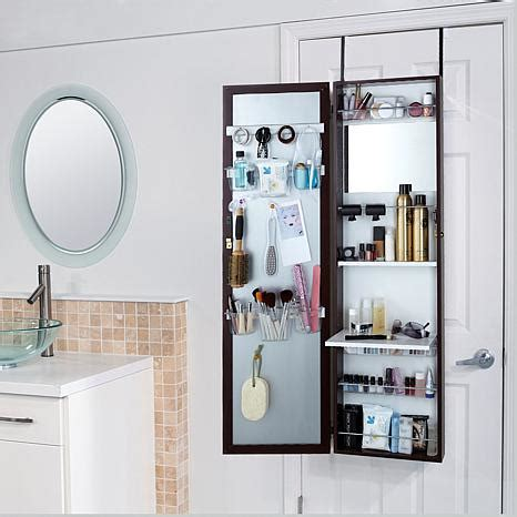 Overthedoor Bath & Beauty Cabinet With Fulllength