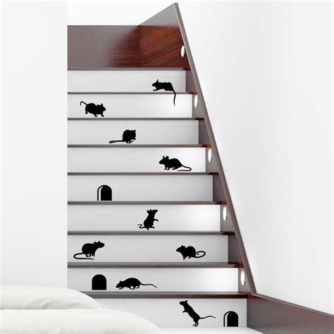 stickers chambre de bébé stickers muraux animaux sticker escaliers drôles avec
