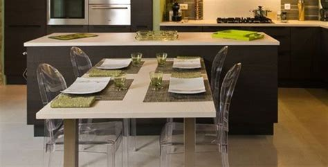 table centrale cuisine ilot central table escamotable mi casa mi cocina