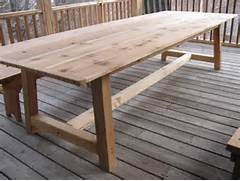 Make Outdoor Wood Table by Dining Table Furniture How To Build Cedar Dining Table Outdoor