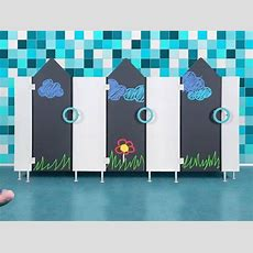 Innovative Wctrennwandsysteme Für Kindergärten Und Schulen