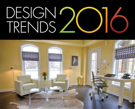 Home Decor Trends : Six Home Décor Trends For 2016