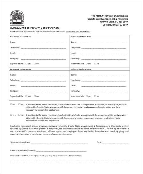 19281 sle general release form 21331 work release form 2 sle release forms in doc bond