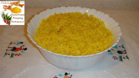 recette riz cuisiné cuisine artisanale d 39 ambanja madagascar le riz jaune