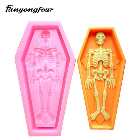 coffin silicone mold cake mold chocolate gypsum candle