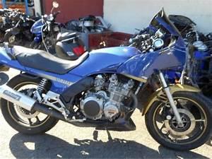 XJ 900 YAMAHA moto accidentée