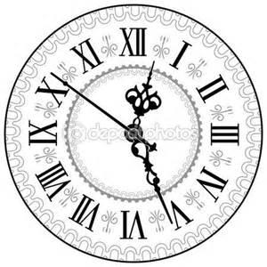 uhr dã nisches design relógio antigo ilustração de stock 10598210 desenhos relógios antigos