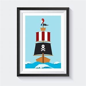 Kinderbilder Fürs Kinderzimmer : drucke plakate piraten bild piraten bilder kinderzimmer bilder poster kinderzimmer ~ Markanthonyermac.com Haus und Dekorationen