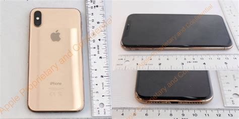 fcc appears to leak of gold iphone x 9to5mac