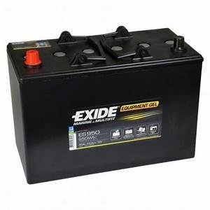 Batterie Exide Gel : nos batteries gel exide es950 12v 85ah ~ Medecine-chirurgie-esthetiques.com Avis de Voitures