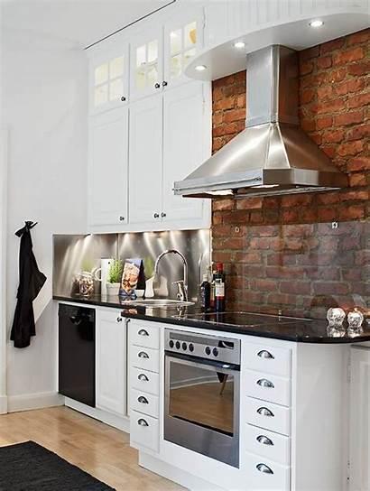 Backsplash Stove Behind Kitchen Brick Glass Considerations