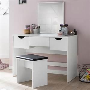 Schminktisch Hocker Ikea : finebuy schminktisch fb51629 kosmetiktisch frisiertisch ~ A.2002-acura-tl-radio.info Haus und Dekorationen