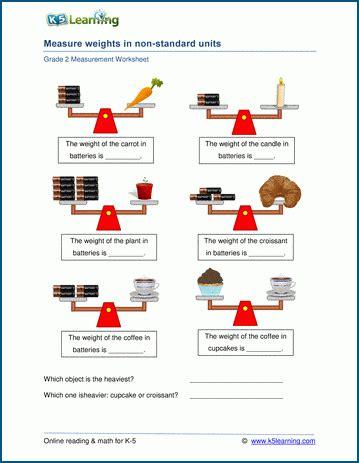 measurement worksheets  learning