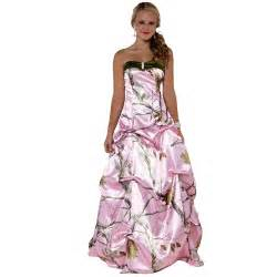 camouflage bridesmaid dresses pink camo dresses for prom 2013