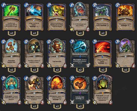 basic shaman deck tgt deck chaman m 233 ca tgt hearthstone heroes of warcraft