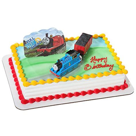 thomas  train cake toppers  birthday cake