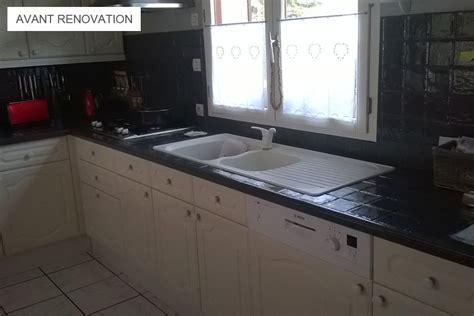 renovation plan de travail cuisine rénover une cuisine avec les plans de travail de