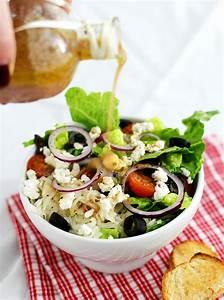 Salat Selber Anbauen : griechischer salat mit feta k chendeern ~ Markanthonyermac.com Haus und Dekorationen