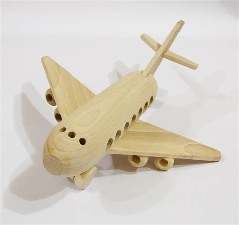 wooden toys airplane organichandcrafted wooden toys eco friendly