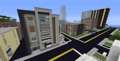 modern complex part of lormierville modern city project minecraft project