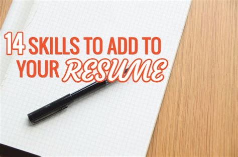 What Are Some Skills To Add To A Resume by 14 Marketing Skills To Add To Your Resume In 2015