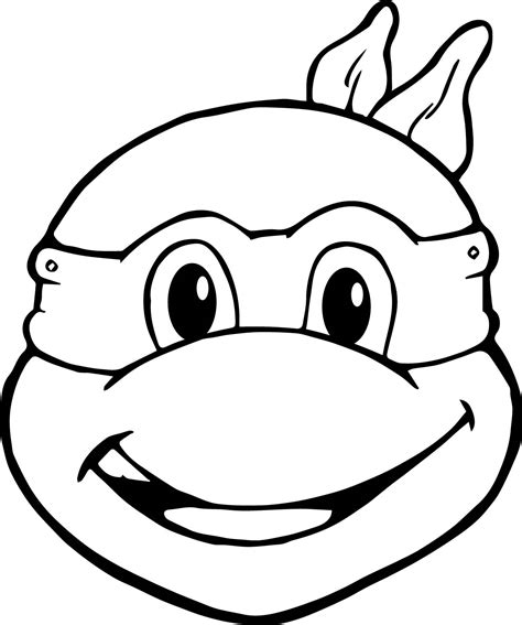 95 Online Coloring Pages Ninja Turtles Download