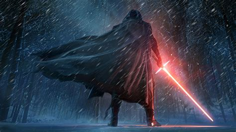 kylo ren star wars  force awakens artwork wallpapers