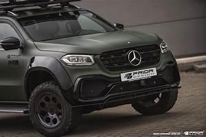 Mercedes Class X : mercedes x class gets rugged and sporty prior design body ~ Melissatoandfro.com Idées de Décoration