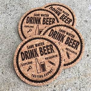 Save, Water, Drink, Beer, U2014, Coasters