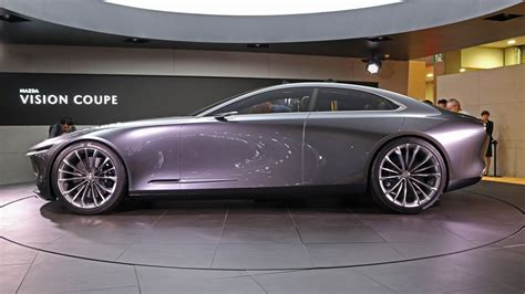 Mazda Concept Car by Mazda Vision Coupe Concept Is Like A Japanese