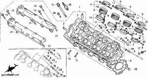 1993 Honda Cbr 600 F2 Partsfiche
