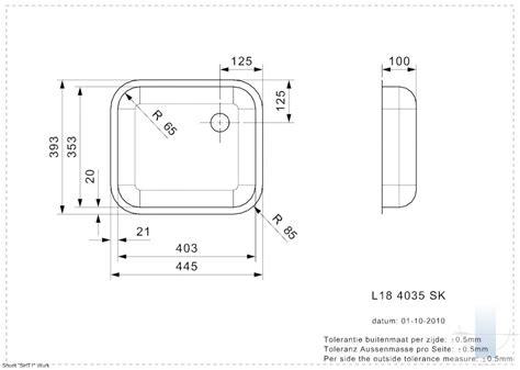 L18 4035 SK 10 CM integrētā virtuves izlietne ...