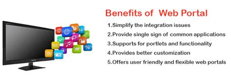 benefits  availing   web portals  business