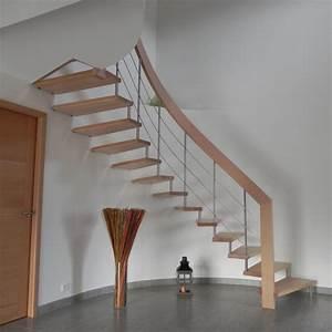 Modele d escalier interieur kirafes for Modele d escalier interieur