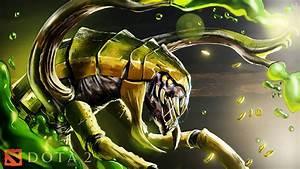 Dota 2 Hero Venomancer Fan Art Wallpaper Hd 2560x1440 ...