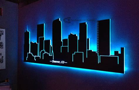 led decor customized designs