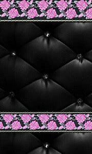 #bling #roses #black #pink #madebyniki | Romantic roses ...