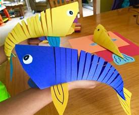 Kids Construction Paper Crafts