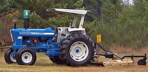 Ford 7600 Tractor Nu Blue