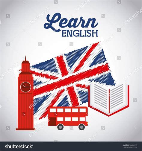 learn english design vector illustration eps graphic