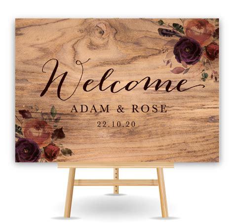 personalised wedding signs bespoke wedding stationery