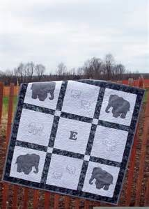 Elephant Wall Hanging Quilt Pattern