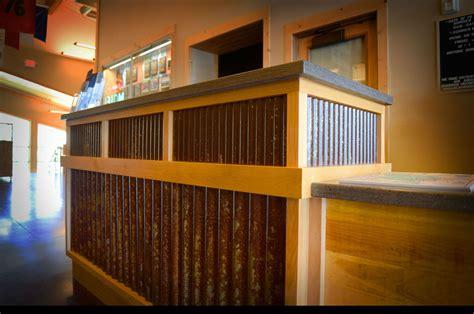 bridger steel corrugated metal siding  interiors