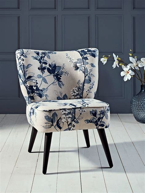 navy blue  white chair home ideas